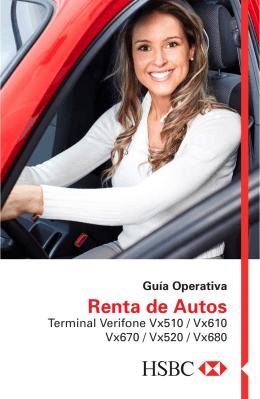 Guía Operativa Renta Auto
