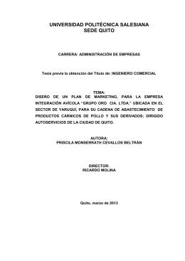 transportista - Universidad Politécnica Salesiana