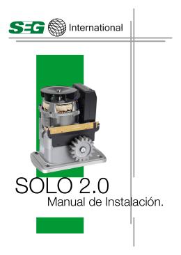 Manual Solo 2.0