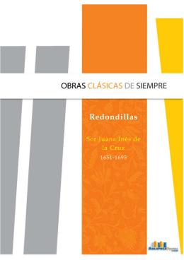 Redondillas - Biblioteca Digital ILCE