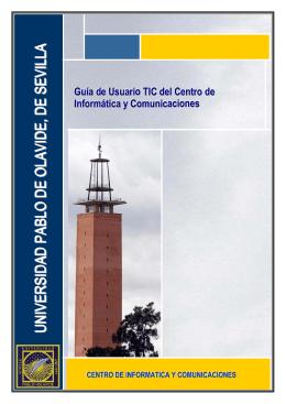 Guía de usuario - Universidad Pablo de Olavide