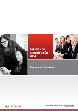 Estudio Remuneración Recursos Humanos