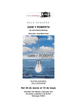 DANI Y ROBERTA - Teatro Español