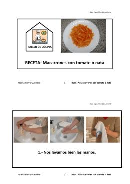 RECETA: Macarrones con tomate o nata
