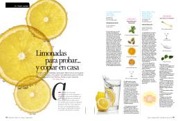 Limonadas para probar... y copiar en casa - b-Blue