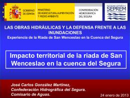 Présentation PowerPoint - Confederación Hidrográfica del Segura
