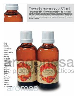 Aragonesa de productos aromáticos