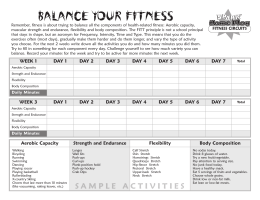 BALANCE YOUR FITNESS