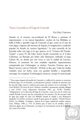 Tema y Leyenda en El Lago de Carucedo