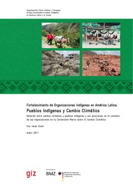 Pueblos Indígenas y Cambio Climático