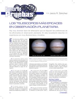 Telescopios planetarios