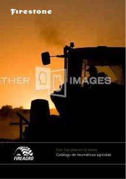 Catálogo de neumáticos agrícolas Con los pies en la tierra.