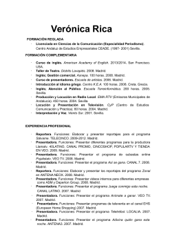 Verónica Rica