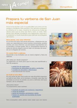 Prepara tu verbena de San Juan más especial