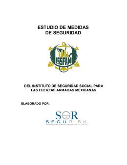 ESTUDIO DE MEDIDAS DE SEGURIDAD