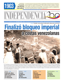 a costas venezolanas - Independencia 200
