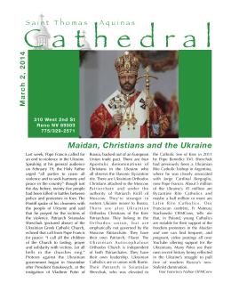 Maidan, Christians and the Ukraine
