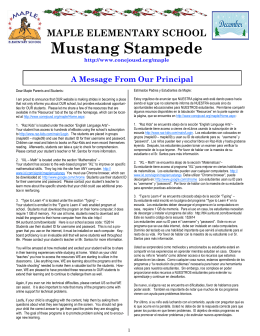 Mustang Stampede - Conejo Valley Unified School District