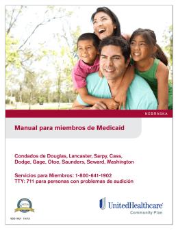 Manual para miembros de Medicaid