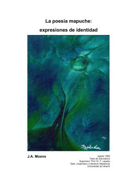 J. A. Moens: La poesía mapuche: expresiones de identidad.