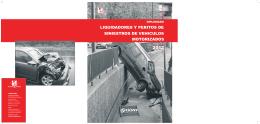 liquidadores y peritos de siniestros de vehiculos motorizados