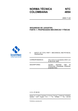 NTC 4894 - ICONTEC Internacional
