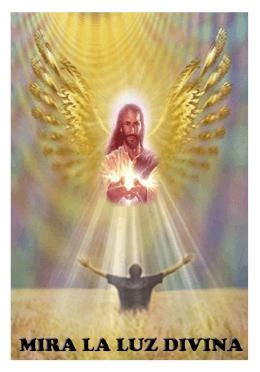 mira la luz divina