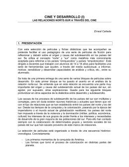 CINE Y DESARROLLO (I)