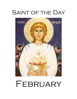 February Saints - Archdiocese of Philadelphia