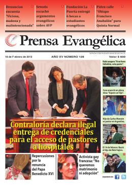Prensa Evangélica