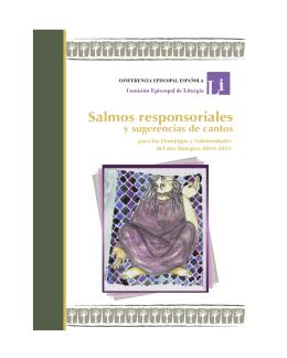 Salmos responsoriales - Conferencia Episcopal Española