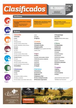 2015-10-25 clasificados - El Diario de la República