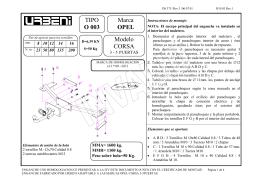 TIPO O 003 Marca OPEL Modelo CORSA