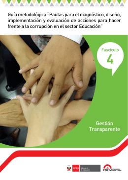 Gestión Transparente - Ministerio de Educación del Perú