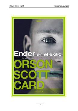 5. Ender en el exilio