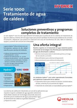 Hydrex™ -Serie 1000 - Veolia Water Technologies
