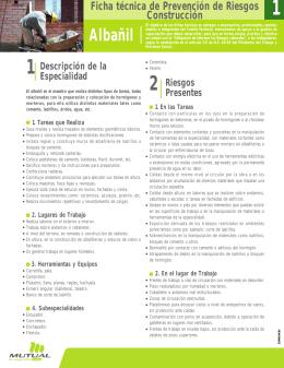 Albañil - Mutual de Seguridad