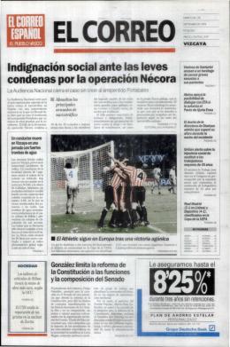condenas por la operación Nécora - Athletic