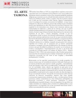 5. el arte tairona - V2 - PABLO GAMBOA HINESTROSA
