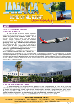 JAMAICA_newsletter_ABR2015