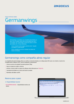 Germanwings - Low cost al 100%