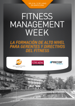 Fitness Management Week - Wellness & Sport Consulting