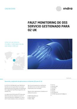 FAULT MONITORING DE OSS SERVICIO GESTIONADO PARA O2 UK