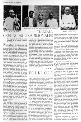 FOLKLORE - Revista de la Universidad de México