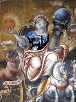 El ciclo de Virtudes de la sala capitular del Ayuntamiento