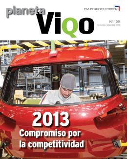 Compromiso por la competitividad - PSA - Site Vigo