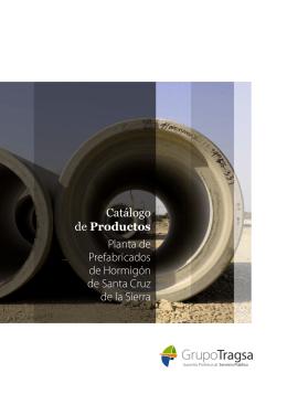 Catálogo de Productos Planta de Prefabricados de Hormigón de