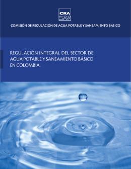 Regulación integral del sector de agua potable y saneamiento básico