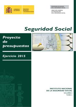 ejercicio 2015 - Seguridad Social