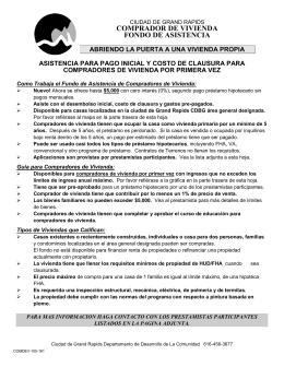 HAF Informational Document - Spanish